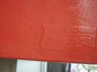 大社神門簡易局の前_7 銘板 塗りつぶされている 2012/09/23