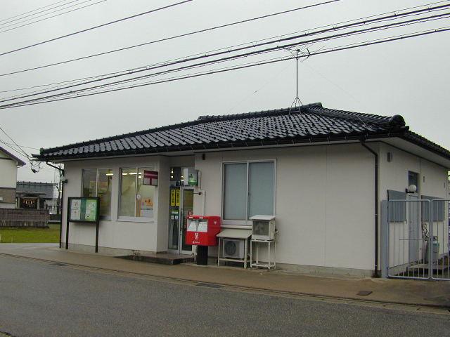 ポスト写真 : 富山赤江郵便局(2006/02/16) : 富山赤江郵便局の前 : 富山県富山市下赤江町二丁目3-22