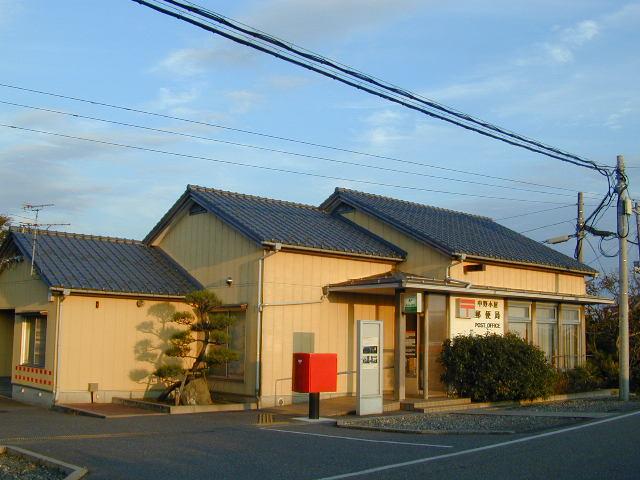 ポスト写真 : 中野小屋郵便局(2007/10/15) : 中野小屋郵便局の前 : 新潟県新潟市西区大友662-1