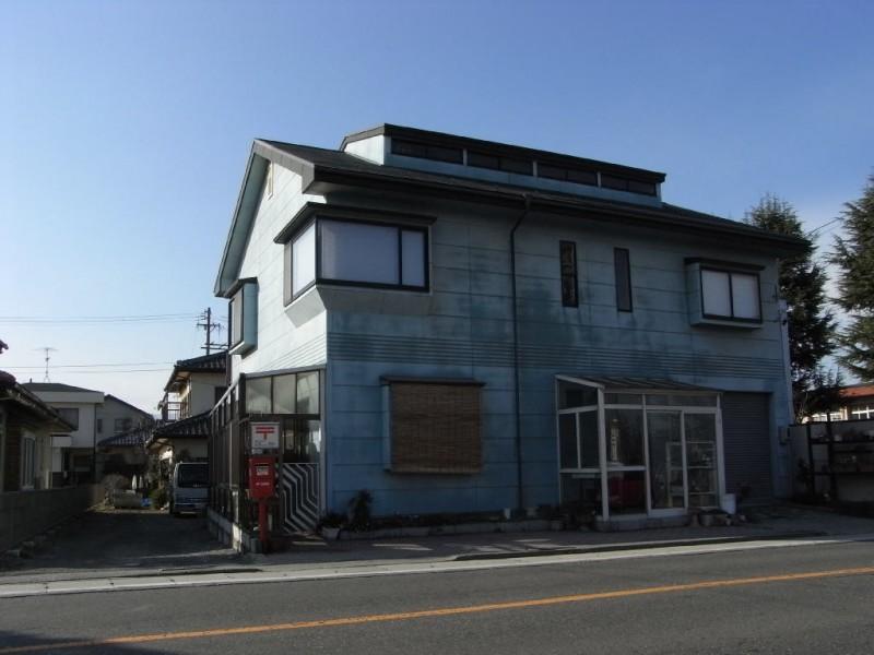 ポスト写真 : 笹賀 民家前01(2007/12/06撮影) : 笹賀 民家前 : 長野県松本市笹賀