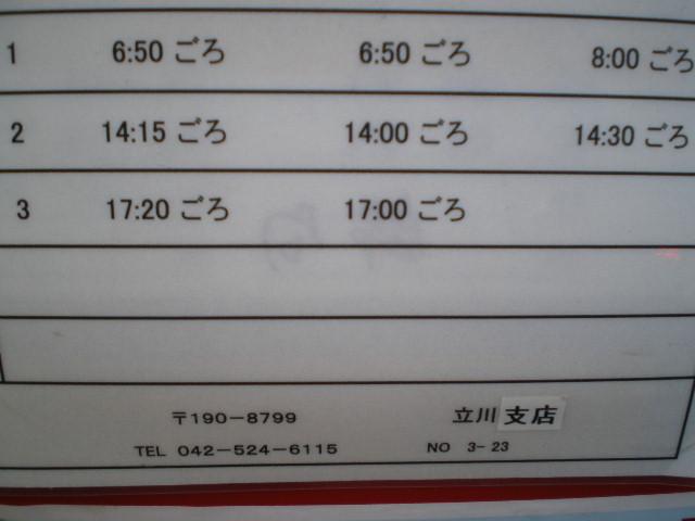 ポスト写真 :  : 立川錦郵便局の前 : 東京都立川市錦町一丁目11-10