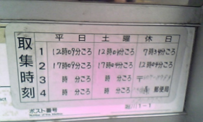 撤去ポスト写真 : JR折尾駅東口前 : 折尾駅東口 : 福岡県北九州市八幡西区折尾一丁目12-1