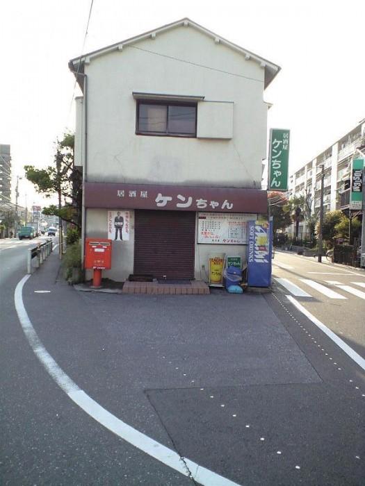 ポスト写真 : 2008-04-11 : 福順餃子の前 : 東京都大田区南六郷一丁目24-9
