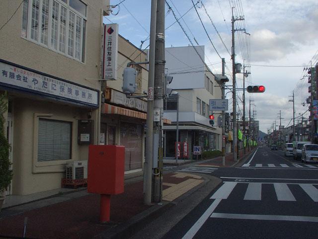 ポスト写真 : 引土交差点1(2008/10/12) : むつみ屋前 : 京都府舞鶴市引土127
