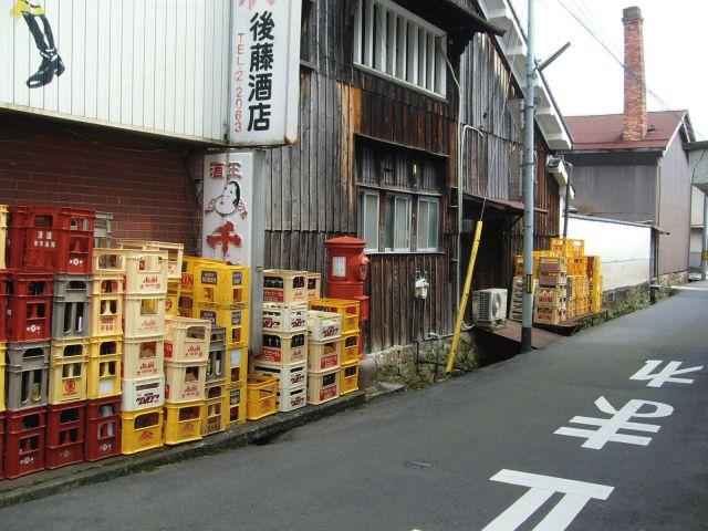 ポスト写真 :  : 後藤酒店横 : 岡山県津山市西今町24