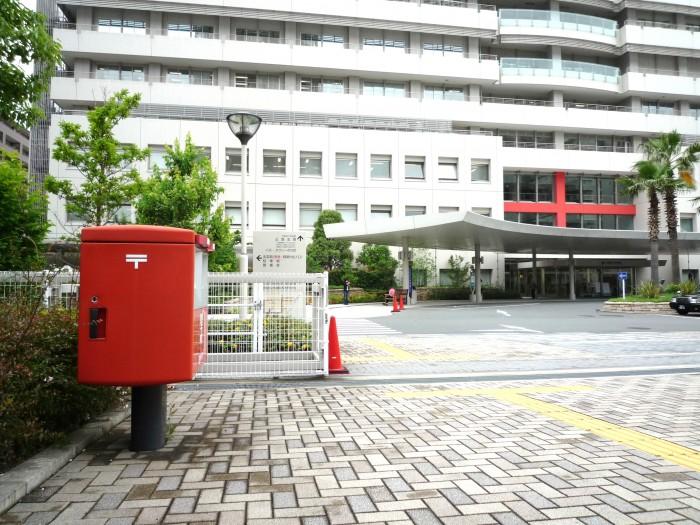 大阪赤十字病院前ポスト3