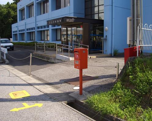ポスト写真 : 2009/7/25撮影 : 多賀町多賀 杉の子作業所横 : 滋賀県犬上郡多賀町多賀246