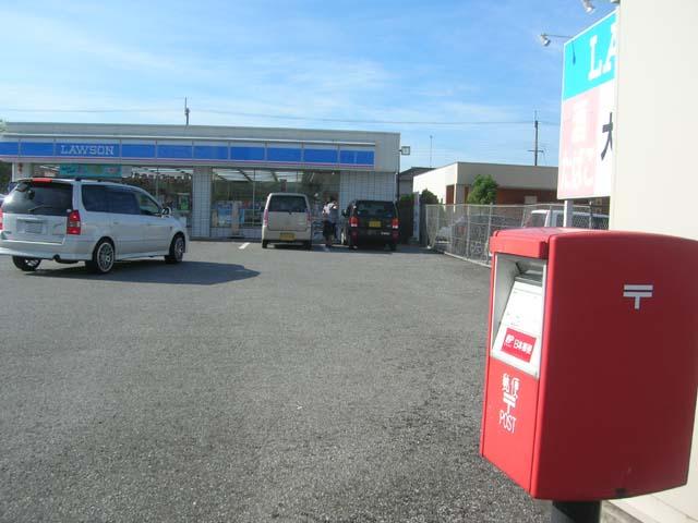 ポスト写真 :  : ローソン長浜インター店前 : 滋賀県長浜市加納町340-1