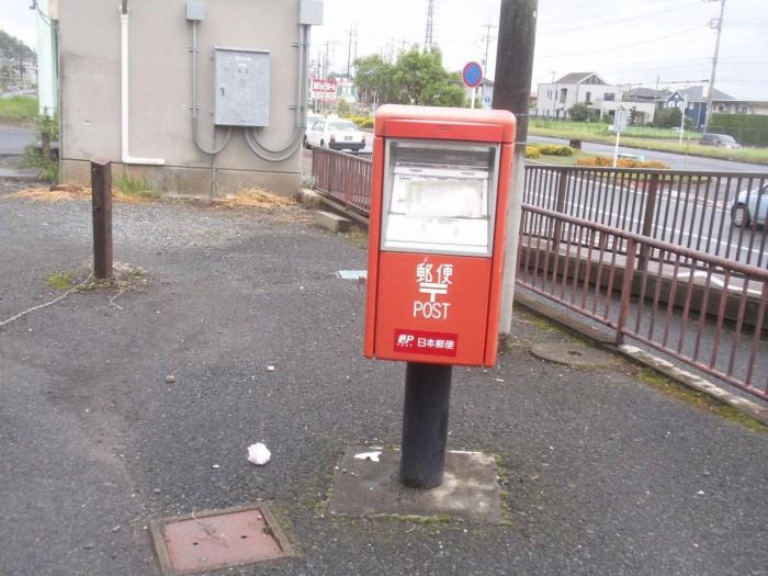 ポスト写真 : JR滑河駅前 : JR安食駅前 : 千葉県印旛郡栄町安食3461