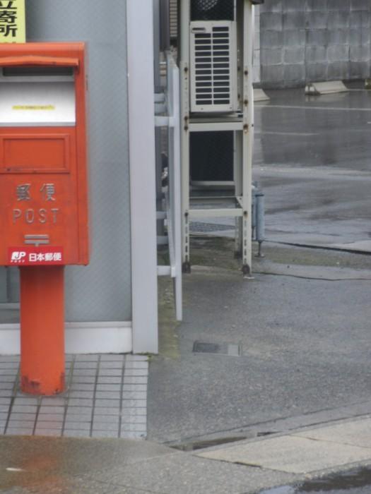 ポスト写真 :  : 敦賀松原郵便局の前 : 福井県敦賀市松原町7-9