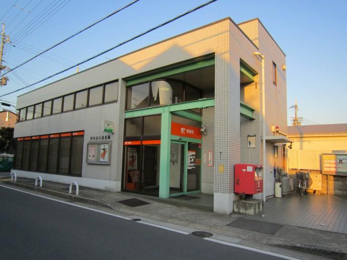 ポスト写真 : 116森本局 : 伊丹森本郵便局の前 : 兵庫県伊丹市森本三丁目53