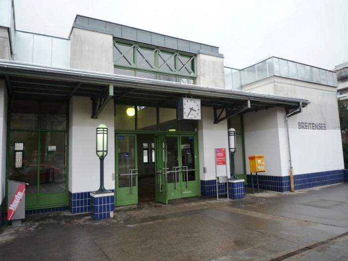 ウィーン・ブライテンゼー駅ポスト2