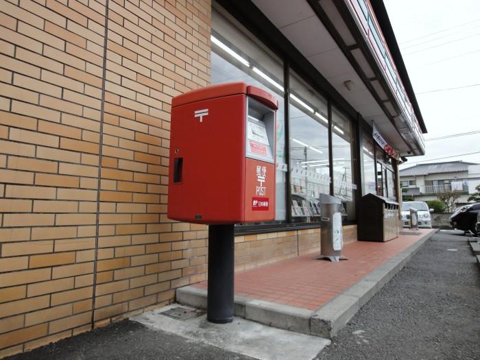 撤去ポスト写真 :  : セブンイレブン富士市中丸店駐車場 : 静岡県富士市中丸