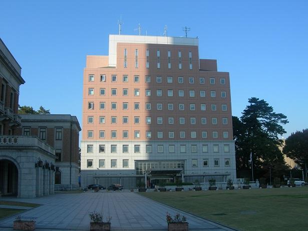 旧・前橋中央郵便局県庁内分室跡(群馬県警察本部)