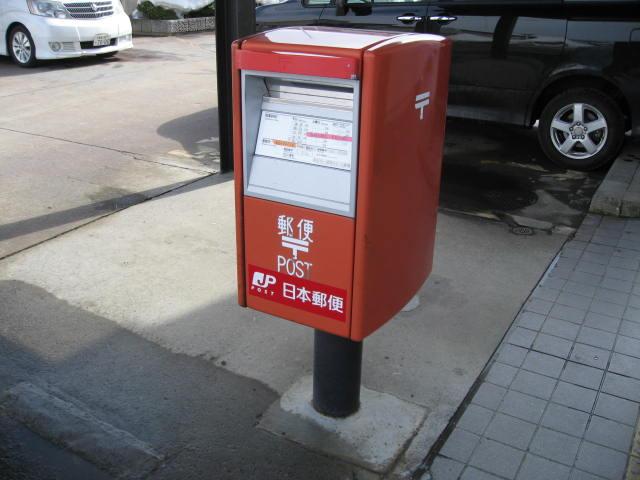 ポスト写真 :  : 黒石郵便局の前 : 青森県黒石市一番町54-1