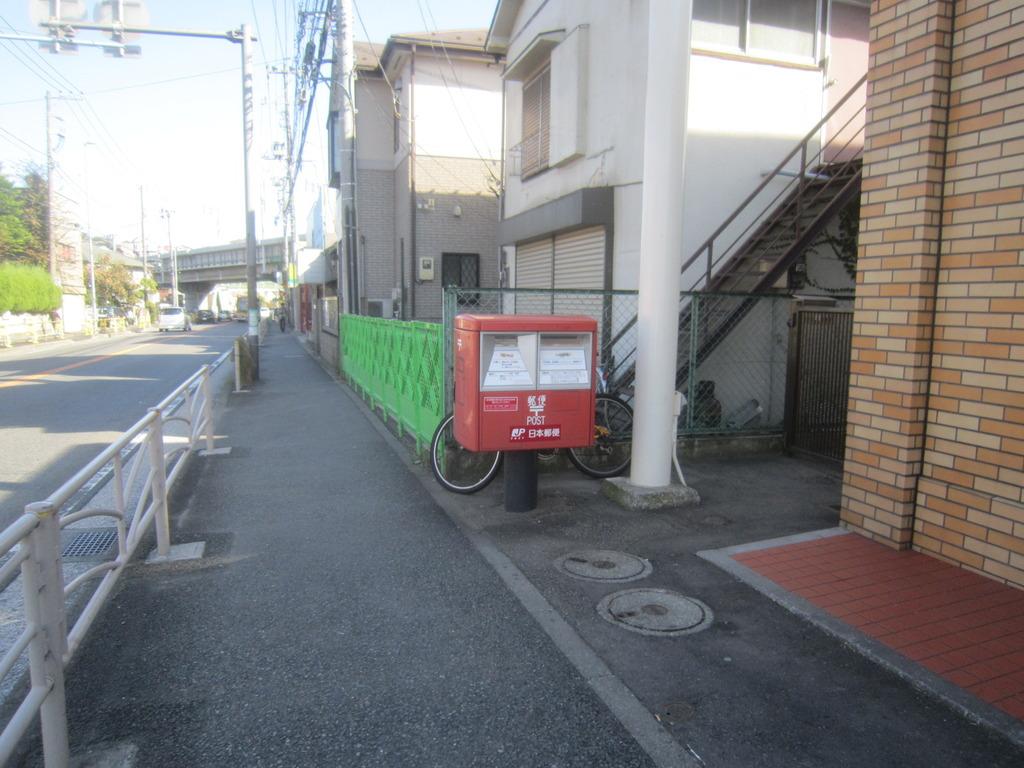 撤去ポスト写真 : 506セブン西谷 : セブンイレブン横浜西谷店前 : 神奈川県横浜市保土ケ谷区西谷町1099