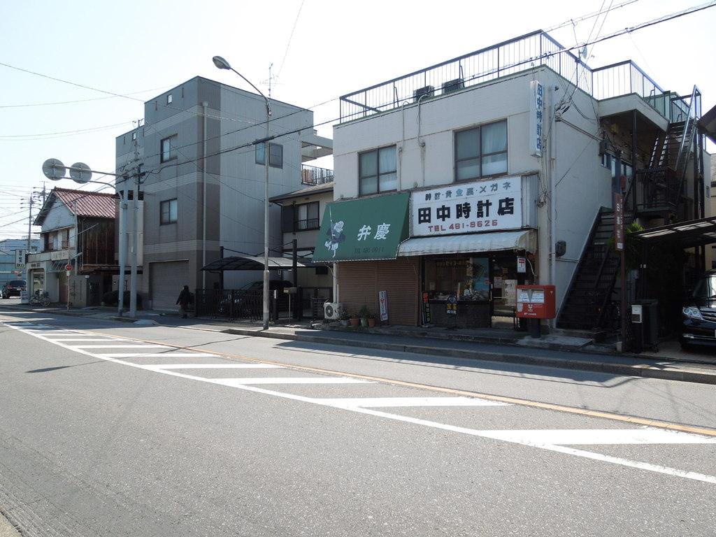 田中時計店前 設置場所周辺