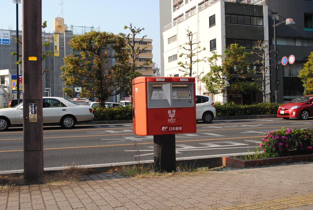 ポスト写真 : 大供1-2 : 岡山市役所分庁舎前 : 岡山県岡山市北区大供一丁目2-1