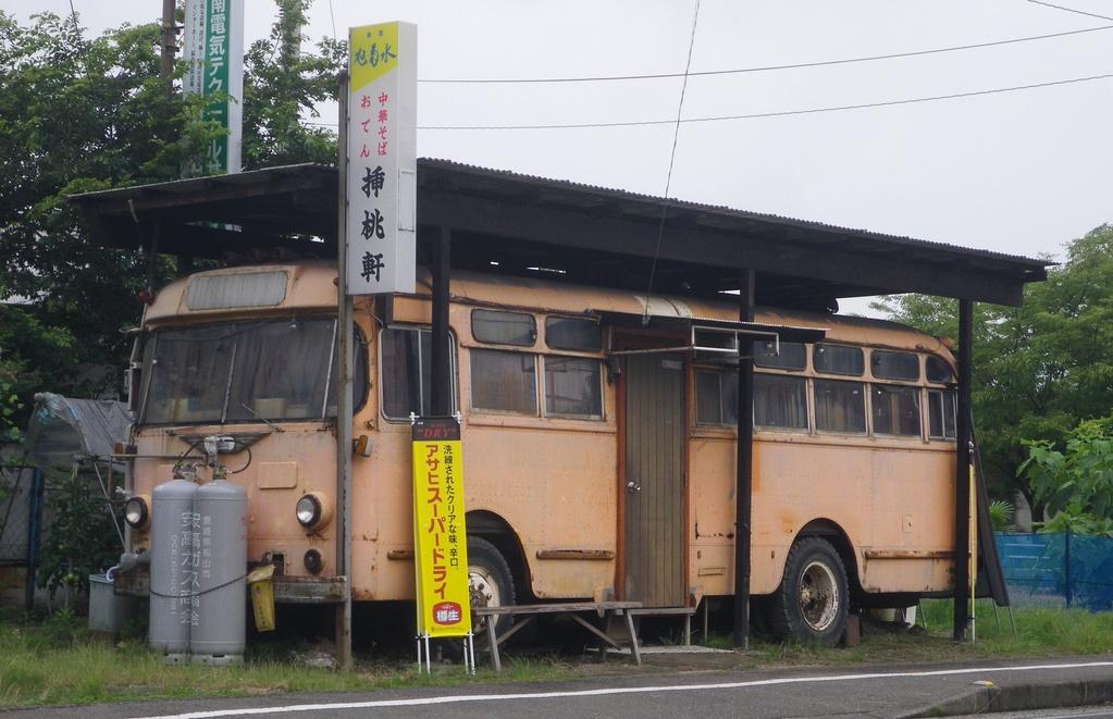 廃バス①(松山市)