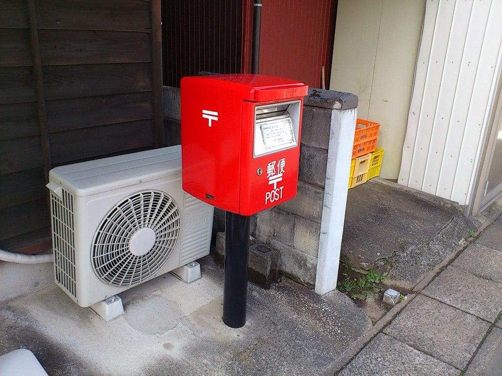 ポスト写真 :  : 松尾簡易郵便局の前 : 長崎県島原市有明町大三東甲2011