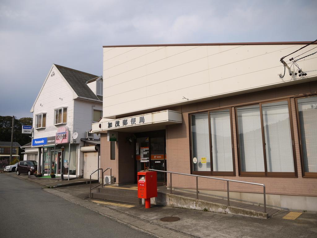 ポスト写真 : 加茂 : 加茂郵便局の前 : 三重県鳥羽市岩倉町351